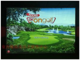 韩国OKON高尔夫模拟器运营
