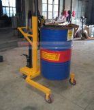 DTF450A 载重450kg升0.6米液压油桶搬运车手拉油桶车 油桶堆高车