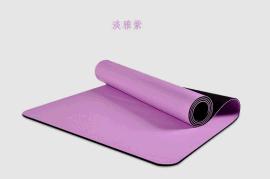 环保无毒纯天然橡胶防滑八八纹**PU瑜伽垫健身垫