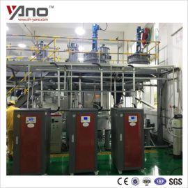 上海莺千新材料化工原料干燥用100KW电蒸汽锅炉,发酵罐干燥用免使用证电蒸汽发生器
