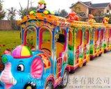 兒童觀光小火車遊樂設備廠家