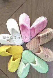 扬州酒店用品、天鹅绒拖鞋、一次性拖鞋