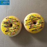 模擬PU海綿玩具甜甜圈奶香芝麻粒廣告贈品代發甜甜圈