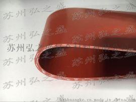地铁用法兰不燃橡胶垫片 红色法兰防火胶垫
