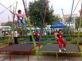儿童蹦极健身游乐设备_开一个儿童乐园多少钱