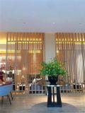防盗铝窗花 隔断木纹铝窗花 中式仿古木纹铝窗花
