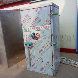 博远供应单门馒头蒸房 不锈钢蒸房  单门36盘蒸箱