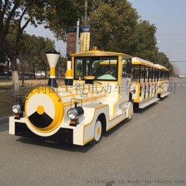 樂園巡回表演電動小火車,利凱士得小火車直銷價格