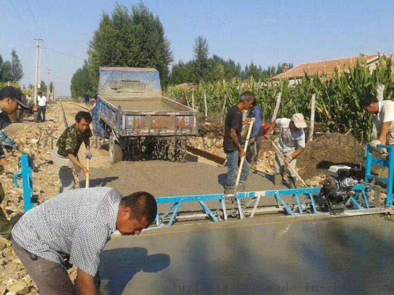 混凝土路面整平机 汽油水泥振动梁 框架式水泥震动梁 平板振动器
