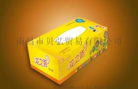 九江纸巾厂专业定制盒抽纸,广告盒抽纸定制免费设计3-5天出货