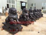 铜狮子厂家-专业制作铜狮子青铜狮子树林铜雕塑厂