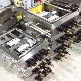 荆州负荷开关保护箱DBM-800A 630 400不锈钢壳体圆头现货