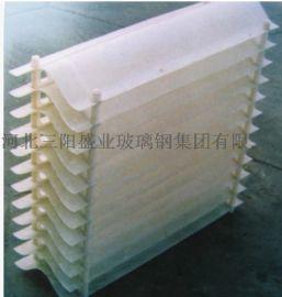 玻璃钢冷却塔填料 PP/PVC 圆方形 斜交错淋水冷却塔填料