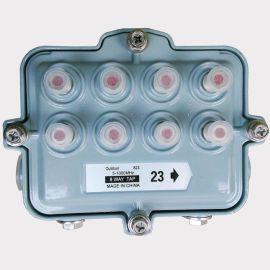 野外型分支分配器 广电分支分配器 野外过流8分支器