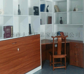 广州定制书房卧室一体化多功能组合家具