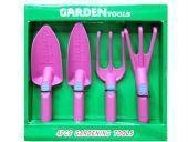 塑料四件套花园工具