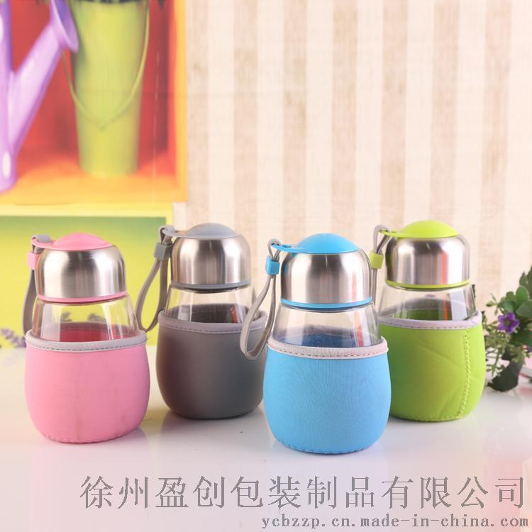 创意企鹅杯礼品杯促销广告杯定制玻璃杯随手杯