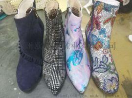 真皮靴子来样定制,时尚靴子加工,冬季靴子定做