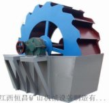 洗砂機設備廠家 輪式洗砂機