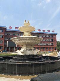 欧式大型景观喷泉雕塑人造砂岩喷泉