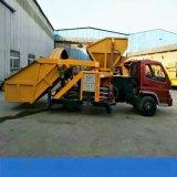 江西萍乡汽车头自动上料喷浆车 拖拉机头自动上料喷浆车