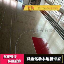 江苏的实木运动地板主要由哪些部分组成