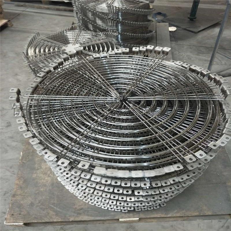 大型风机防护罩 风机保护罩 异型金属网罩