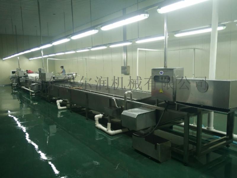 诸城 净菜加工设备 蔬菜加工设备 一站式净菜生产线