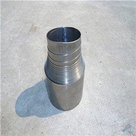 螺旋钢带防护套 机床丝杠防护罩 耐高温丝杆防护罩
