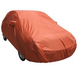 涤塔夫190T金桔色防水防晒双面汽车车罩
