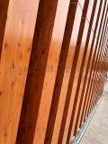 大厦外墙木纹铝方通,铝方通幕墙