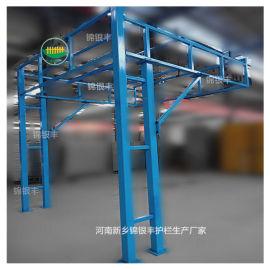 工  准化安全通道钢结构防护棚建筑围栏河南加工生产厂家