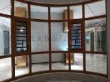 铝合金断桥窗纱一体门窗 金刚网一体门窗