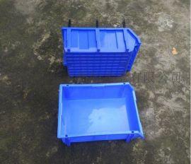 浙江杭州带支撑杆塑料零件盒全新料工具盒食品箱