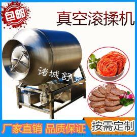 实验室变频鸡肉滚揉机小型肉类腌制机