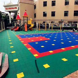 盧灣區氣墊懸浮地板籃球場塑膠地板拼裝地板廠家