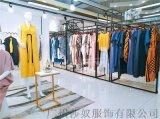 深圳高端原創設計師品牌女裝引色夏裝2019走份貨源