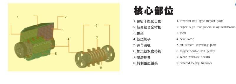 枣庄鑫金山单段锤式破碎机 重锤反击式