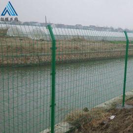 铁丝隔离栅 包胶浸塑围栏