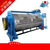 厂家直销工业半自动水洗机、半自动卧式工业洗衣机