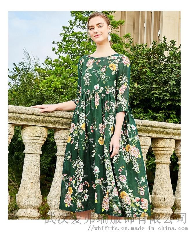 【代销】过了年服装店应该怎么拿货摩尼菲格手工燕尾裙