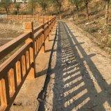 高效大型仿木水泥护栏厂
