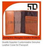 PIXIU/皮休 品牌錢包定制 上海牛皮護照包 真皮護照夾定做