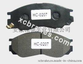 汽车刹车片半金属刹车片HC-0207