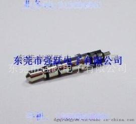 3.5四极耳机插头,3.5立体插针,耳机音视频插针,3.5*4.5*23.8四极车盘插针