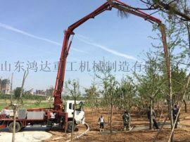 鸿达HCQ5196THBEQ型28米混凝土泵车
