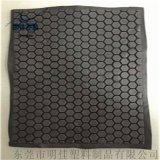 eVA泡棉 熱壓成型黑色配件 箱包護墊