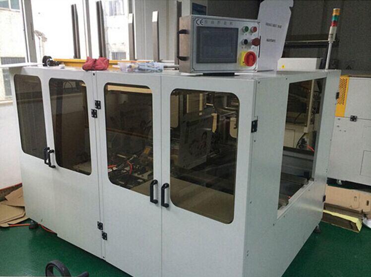 江門恩平全自動折盒機 220V折成紙盒機折盒程度高