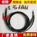 耐高压纤维编织黄油软管 润滑系统管路高压黄油管