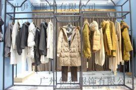 廣州因爲**女裝尾貨秋冬直播貨源 因爲品牌折扣女裝供應